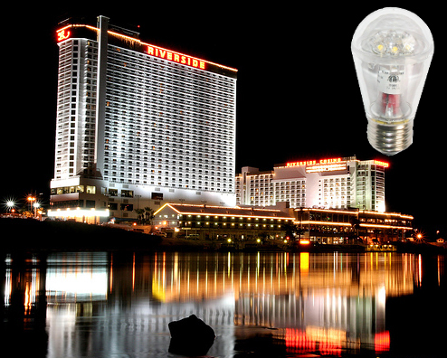 S14 LED Bulb in Nevada Project