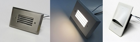 Single Gang LED Step Light Fixture