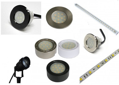 Custom LED Lighting product choices